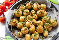 cartofi-noi-cu-seminte-6193 What A Beautiful Day, Tzatziki, Potato Salad, Potatoes, Cooking, Ethnic Recipes, Food, Green, Salads