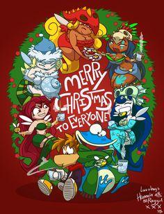 MerRAY Christmas 2011 by raygirl.deviantart.com on @DeviantArt