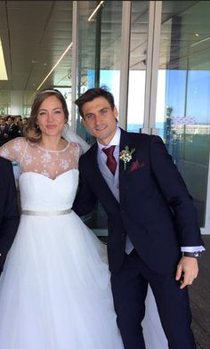 David Ferrer and his bride // TAT Tennis Pics-Off The Court - Page 416