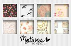 Motivos Vintage! by iBeHappyRawr.deviantart.com on @DeviantArt