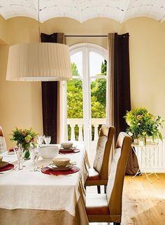Солнечный и уютный интерьер дома в Испании, выполненный в теплой цветовой гамме. - Дизайн интерьеров | Идеи вашего дома | Lodgers