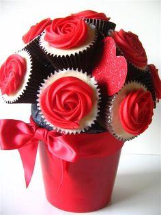 Ramo de cupcakes