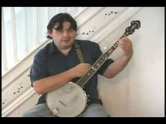 Frailing Banjo Lesson Two - YouTube