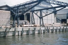 1959: Lenanton's Wharf, Millwall