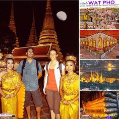 Wat Pho - Bangkok SM Hub Reclining Buddha, Wat Pho, Bangkok Thailand, Temples, Tourism, Icons, Movies, Turismo, Films