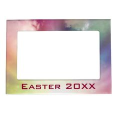 Magical Clouds Magnetic Photo Frame