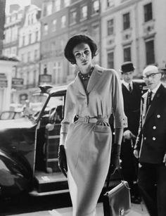 Georges Dambier, Lucinda Hollingsworth, London, 1959
