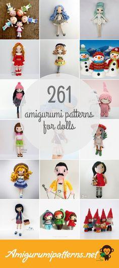 261 Dolls Amigurumi Patterns - Page 2