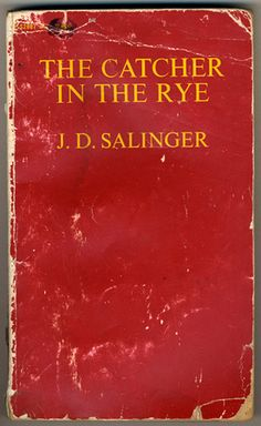 Catcher in the Rye by J.D. Salinger. - teaching it now and falling in love with it all over again