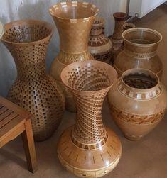 Segmented Turning, Large Vases, Sand Paper, Wood Bowls, Lathe, Wood Turning, Bird Houses, Wood Art, Wood Projects
