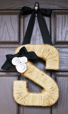 DIY Fall Wreath - with fall colors will look more fall like