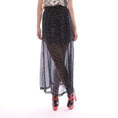 http://shop.ifladies.com/starry-night-maxi-skirt.html Starry Night Maxi Skirt - Dresses & Skirts    Iron Fist Clothing  IF Ladies  ironfistclothing.com