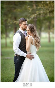 groom in jeans and gray vest - Google Search
