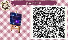 ACNL Galaxy black brick path tile- >>>>>>>>If you know where I can find the rest of this path I would so Appreciate a link to it.. If there is more to it lol<<<<<<< TYSM ^_^