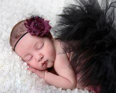 Cute Princess Tutu skirt with Flower Headband
