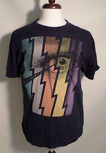 Mens Size XL Billabong T Shirts, Comic Style Eye Graphic, Black