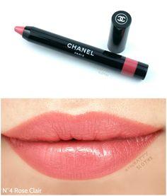 "Chanel Le Rouge Colored Pencil in ""N ° 3 Light Pink"" Chanel Le Rouge Crayon de Couleur in Rose Clair"" Chanel Le Rouge Colored Pencil in ""N ° 3 Light Pink"" - Lip Gloss Colors, Pink Lip Gloss, Pink Lips, Lip Colors, Lipstick Swatches, Lipstick Shades, Lipstick Colors, Chanel Makeup, Lip Makeup"