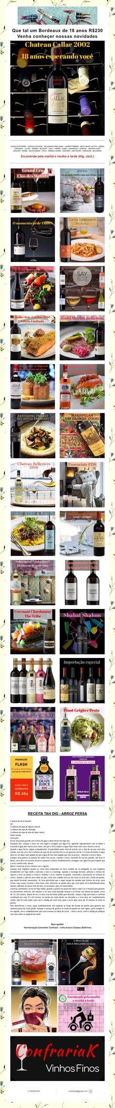 Que tal um Bordeaux de 18 anos R$230  Venha conheçer nossas novidades 230, Bordeaux, Wine Pairings, Getting To Know, Bordeaux Wine