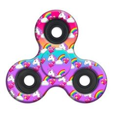 Spinner Squad High Speed & Longest Spin Time Fidget Spinners (Unicorn)