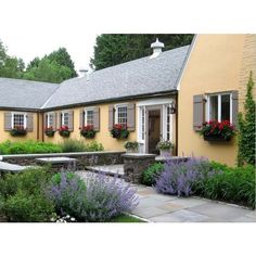 French Country Garden - traditional - landscape - manchester - by Woodburn & Company Landscape Architecture, LLC