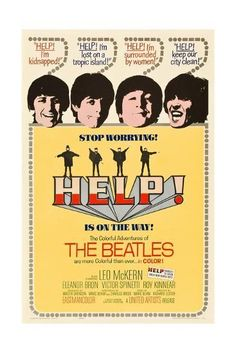 Directed by Richard Lester. With John Lennon, Paul McCartney, George Harrison, Ringo Starr. Sir Ringo Starr finds himself the human sacrifice target of a cult, and his fellow members of The Beatles must try to protect him from it. Poster Dos Beatles, Les Beatles, Beatles Art, Beatles Gifts, Beatles Photos, Ringo Starr, Paul Mccartney, John Lennon, Concert Rock