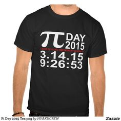 Pi Day 2015 Tee.png T-shirts