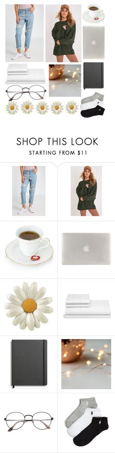 """""aesthetic"" starter pack"" by kagitakirana on Polyvore featuring beauty, Ally Fashion, Tucano, Frette, Shinola and Ralph Lauren"