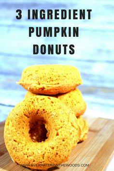 easy baked pumpkin donut doughnut