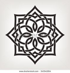 Circular pattern in arabesque style. Eight pointed star., Circular pattern in arabesque style. Eight pointed star. Circular pattern in arabesque style. Eight pointed star. Islamic Art Pattern, Pattern Art, Pattern Design, Stencil Art, Stencil Designs, Stencil Patterns, Motifs Islamiques, Motif Arabesque, Motif Oriental