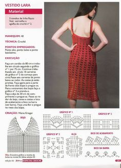 Vestido Maxi Italiano Clasico Patron - Patrones Crochet