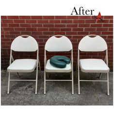 Meet Selima! Reupholstering these folding chairs and creating a new case for this face cradle were important steps to reopening a local massage therapy business. We were excited to help! The chairs were recovered in a pretty ivory-colored vinyl. We love those peek holes at the top of each one. Contrasting turquoise vinyl now covers that comfy face cradle. Let us know if we can help you restart with something fresh and new! Folding Chairs, Massage Therapy, Ivory, Meet, Comfy, Turquoise, Fresh, Bird