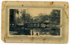 Губэрнатарскі сад. Мост празь Сьвіслач.