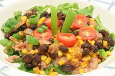 Ultimate Daniel Fast: Taco Toss-up - this is also yummy yummy in my tummy. refreshing!! mom and dad liked.