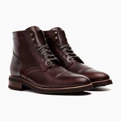 "Thursday boots ""captain"" in dark brown"