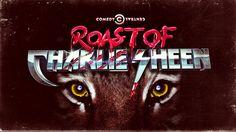 Roast of Charlie Sheen by Jonathan Kim, via Behance Typography Inspiration, Graphic Design Inspiration, Charlie Sheen, Charlie Charlie, Initials Logo, Retro Waves, Retro Futuristic, 3d Logo, Comedy Central