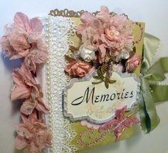 """Memories"" Premade Interactive Scrapbook Album *Adriana*"