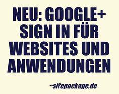Nach Facebook und Twitter ist ab sofort auch eine Registrierung bei Websites und Apps mit dem Google+ Profil möglich.  This quote courtesy of @Pinstamatic (http://pinstamatic.com)