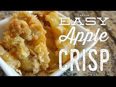 Easy Homemade Apple Crisp – The Perfect Fall desert! DIY apple desert, apple crisp, quick and easy desert! Homemade Apple Crisp, Apple Crisp Easy, Apple Crisp Recipes, Finger Desserts, Easy Desserts, Apple Crumble Topping, Apple Cobbler, Desert Recipes, Fall Recipes