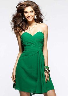 Faviana 7075A Strapless Party Dress
