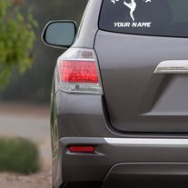 Any State Home Vinyl Decal Car Sticker On Etsy Car Decals - How to make vinyl car decals at home