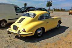 Pour ce mardi sur #BonjourLaVieille, une magnifique #Porsche #356 Mardi, Porsche 356, Vehicles, Vintage Cars, Collector Cars, Car, Vehicle, Tools