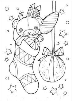 27 karácsonyi maci sablon | PaGi Decoplage Adult Coloring, Coloring Pages, Book Portfolio, Noel Christmas, Activities For Kids, Doodles, Butterfly, Kids Rugs, Drawings