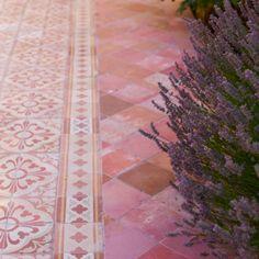 Which Tile is Best for Multiple Rooms? | Maria Killam | True Colour Expert | Decorator Garden Tiles, Patio Tiles, Outdoor Tiles, Outdoor Pavers, Garden Floor, Outdoor Flooring, Outdoor Decor, Kitchen Tiles Design, Tile Design