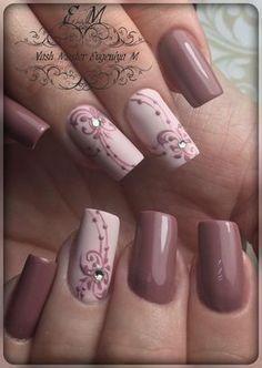 Фотография - coffin #nails #nailscoffin #coffinnails
