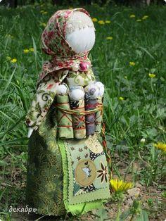 Куклы День матери День рождения День семьи Шитьё Народная кукла Московка Кружево Нитки Ткань фото 1