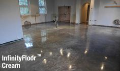 Polished concrete floors by CARRcrete. Residential, commercial and industrial concrete floor polishing across the UK. We design the diamond tools, chemicals and concrete overlays. Polished Concrete Flooring, Concrete Overlay, Floor Stain, Industrial Flooring, Gym Design, Design Room, Types Of Flooring, Stained Concrete, Bathroom Flooring