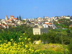 Grieks dorp in het voorjaar Dolores Park, Travel, Crete, Viajes, Destinations, Traveling, Trips
