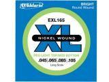 Encordoamento de Níquel 0.45 para Contrabaixo - DAddario EXL 165