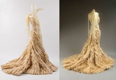 Alexander McQueen -- wouldn't wear it but it's amazing! The craftsmanship!