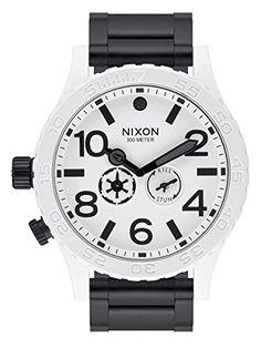Great gift idea Nixon - 51-30 - Star Wars Stormtrooper Collector's Edition - Black White - A172SW-2243
